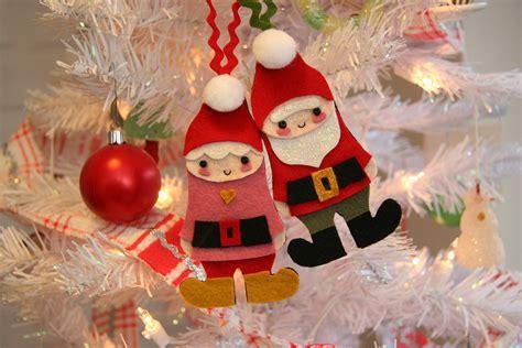 mr mrs claus ornaments