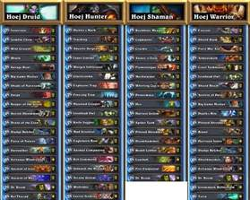 decks hearthstone viagame hearthstone house cup 2 hoej decklists
