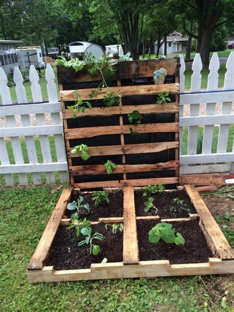 Pallet Gardening Ideas Pallet Idea Pallets Garden Ideas