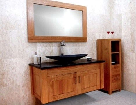 Awesome Bathroom Vanity Tower #6: Oak-bathroom-furniture-design-02-500x389_thumb.jpg