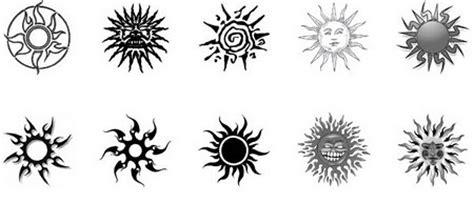 imagenes de tatuajes de soles dise 241 os de soles tribales muy atractivos para compartir