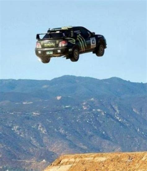 subaru rally jump subaru wrx rally car jumping high subies pinterest