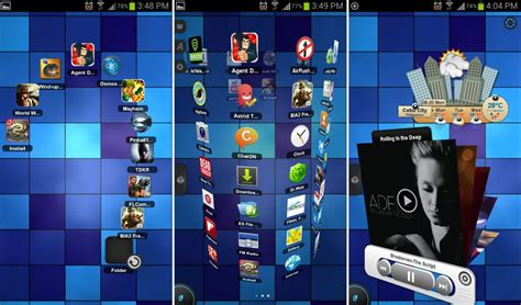 best 3d homescreen launchers for android