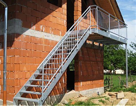 handlauf verzinkt außen aussen design treppe