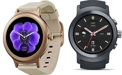 android wear watches lg style and sport smartwatches launched with android wear 2 0