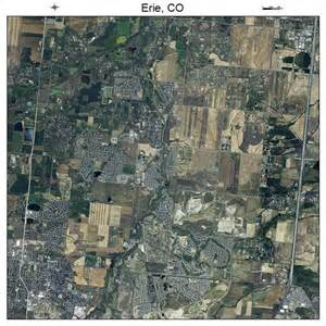 aerial photography map of erie co colorado