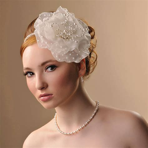 Handmade Wedding Headpieces - handmade eleanor wedding headpiece by rosie willett