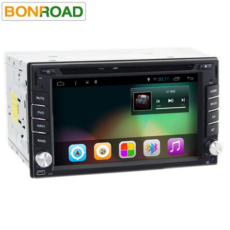 Sony Android Multimedia Player bonroad 6 2 quot universal car stereo usb sd wifi audio radio bt multimedia player android 6 0
