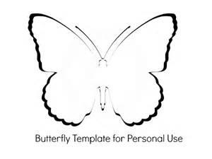 martha stewart butterfly template butterfly baby shower