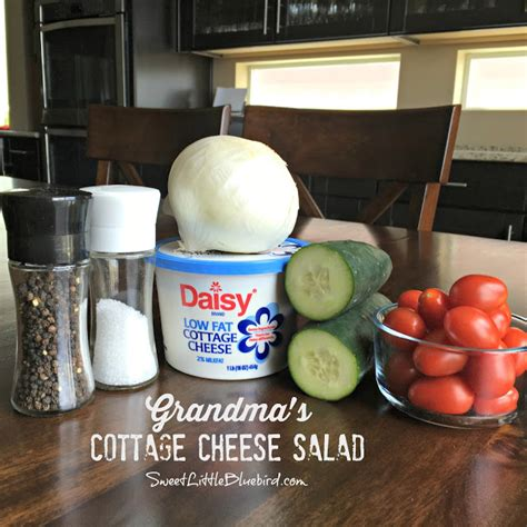 cottage cheese salad sweet bluebird s cottage cheese salad