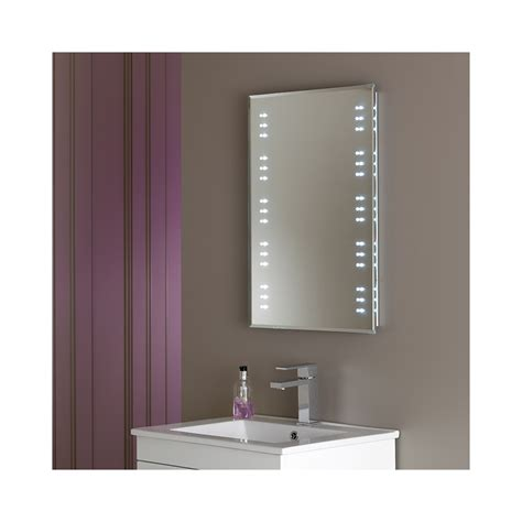 endon el kastos bathroom mirror with led lights ip44