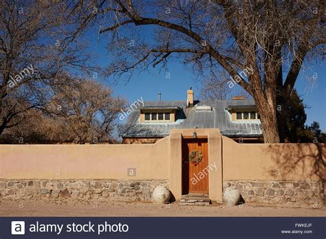 O House Uga by O Keeffe House Fence And Front Gate Abiquiu New