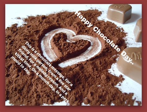 cocoa day happy chocolate day 2017 status facebook whatsapp love dp