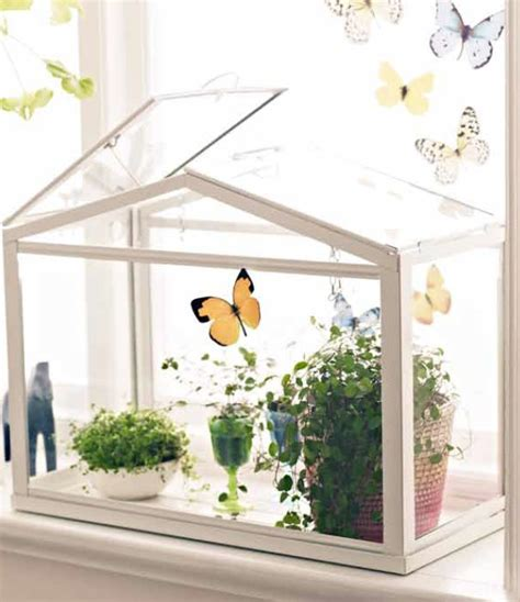 socker greenhouse make a garden diorama create an adorable scene in a mini