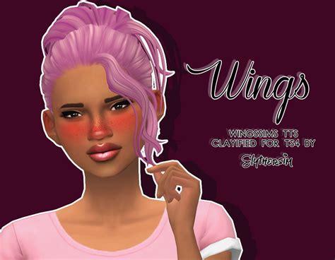 sims  hairs slythersim wingsims tts hair clayified  ts