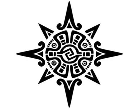 mayan tribal tattoo designs 10 ancient mayan designs belly button sun and