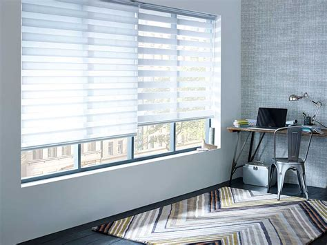 the light that blinds focus on window treatments roller and blinds