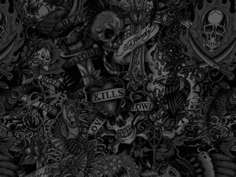 free skull paper cool wallpapers pics cool backgrounds