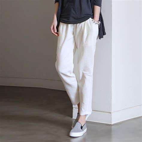 New Lace High Waistid Munafie Slim Pans Celana Renda Kawat White Summer For Pi