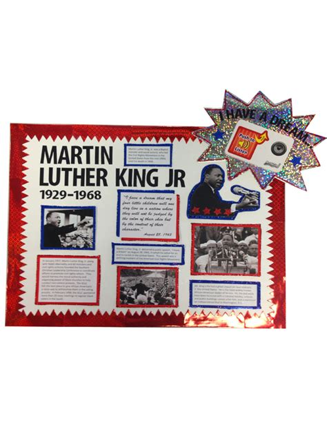 make a martin luther king jr poster martin luther king