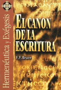 libro bruce el alce y f f bruce el canon de la escritura libros cristianos gratis para descargar