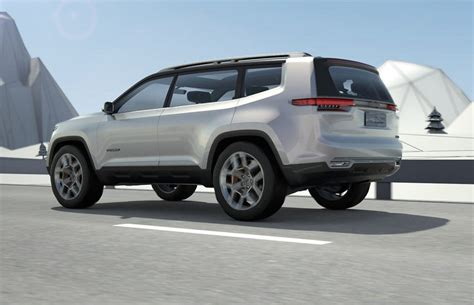 new jeep concept jeep yuntu concept potentially previews new 3 row seat suv