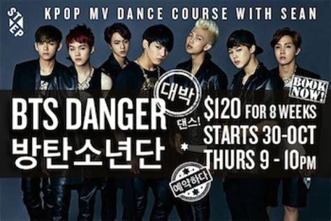 tutorial dance danger bts bts danger k pop course kpop dance classes in singapore