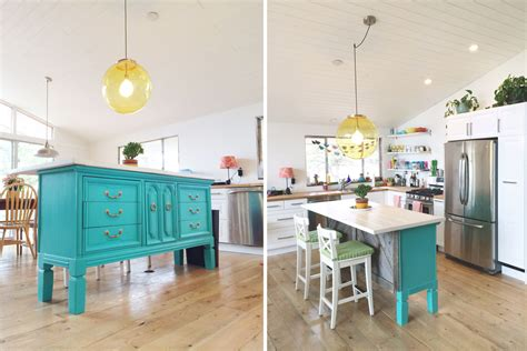dresser kitchen island transformed vintage dresser to kitchen island nesting gypsy