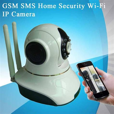 gsm sms home security wi fi ip hg7835wip