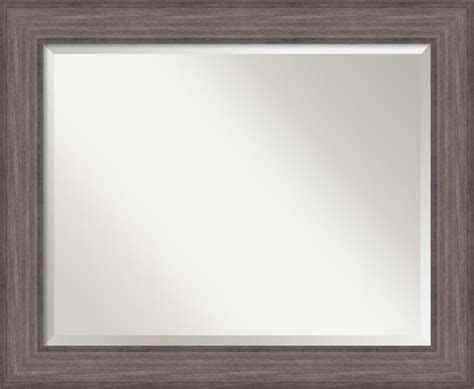 country bathroom mirrors bathroom mirror large country barnwood 34 quot x28