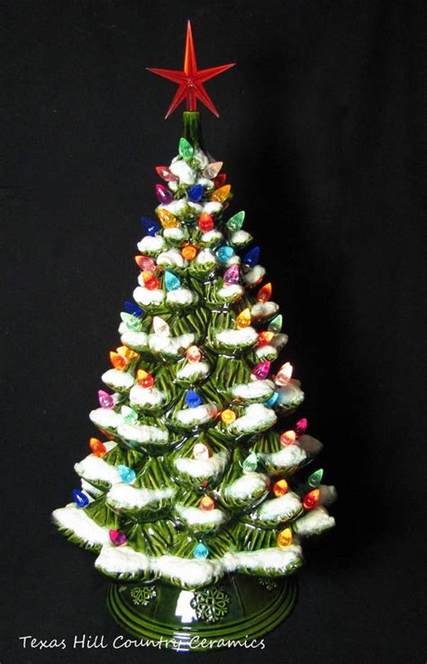 ceramic christmas trees 1000 images about ceramic trees on vintage ceramic tree white