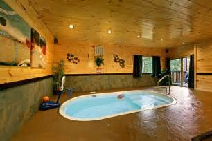 pigeon forge area cabin with indoor pool