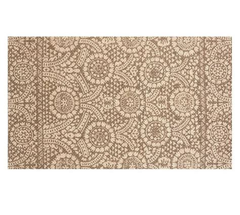 pottery barn fiber rugs printed fiber rug brown pottery barn