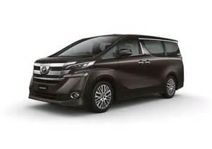 Toyota Vallfire Made For Malaysia Toyota Alphard Vellfire Mpvs Launched