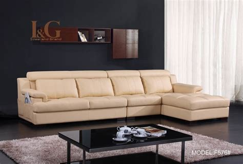 china modern real leather sofa f576 china real leather