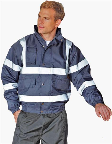 Navy Yoco Jacket yoko hi vis bomber jacket navy bt hvp211