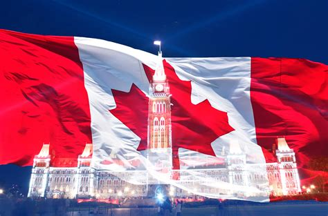 flag day canada free images symbol july happy canadian red flag