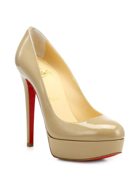 Christian 88618vl 2in1 Leather 2 christian louboutin toe patent leather pumps chris