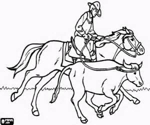 desenhos de cowboy ou vaqueiro para colorir jogos de