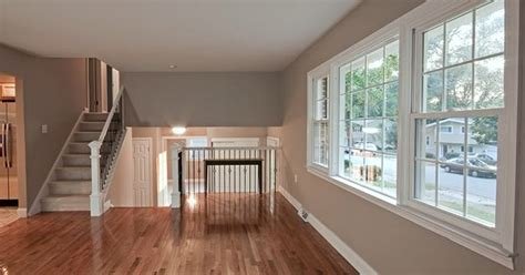 gleaming hardwood floors   gorgeous paint color