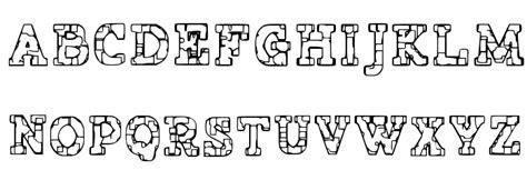 Jailhouse Tattoo Lettering | prison tattoo schriftart
