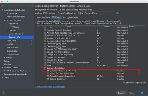 pattern constraint failed xml layout how to set constraints in android studio stack