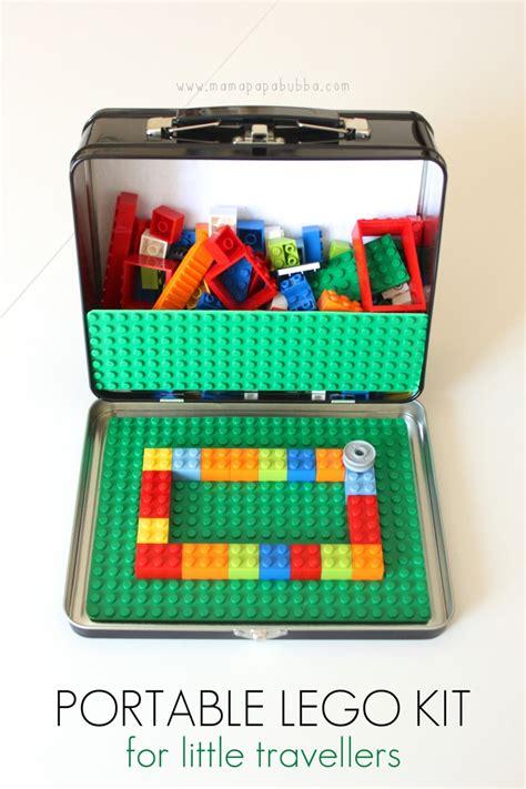 diy portable lego table portable lego kit bigdiyideas