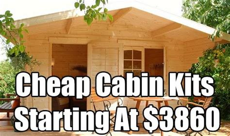 how to buy a cheap house cheap cabin kits starting at 3860 cabin cabin kit