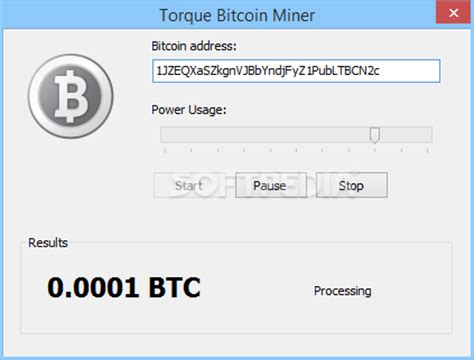 Software Mining Bitcoin by Torque Bitcoin Miner Free With Screenshots And