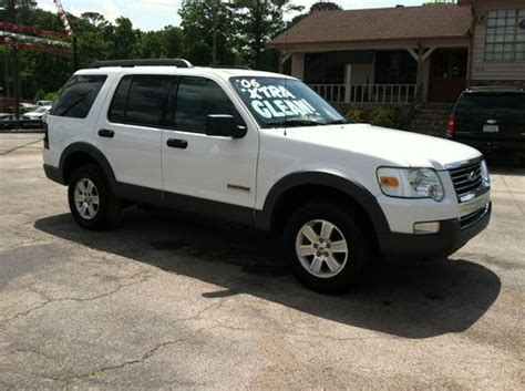 2006 Ford Explorer Xlt by Purchase Used 2006 Ford Explorer Xlt Sport Utility 4 Door