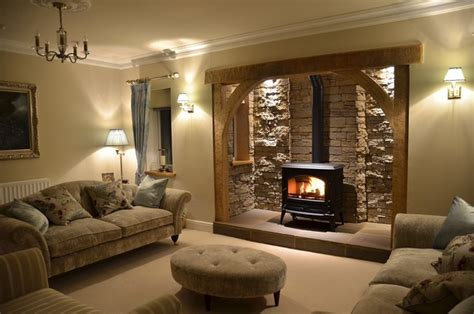 Living Room Ideas With Inglenook Fireplace Modern Inglenook Fireplace Fitted By Burning Inspirations