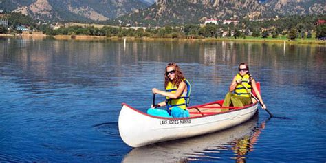boating and outdoors estes park boating estes park outdoor activities estes