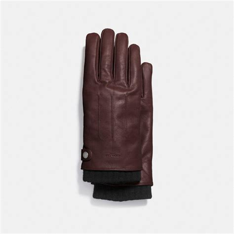 Givenchy 3in1 lyst coach 3 in 1 glove in leather for