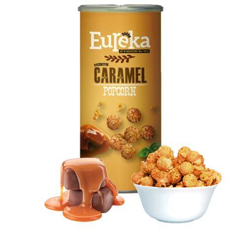 Eureka Pop Corn caramel popcorn eureka snack